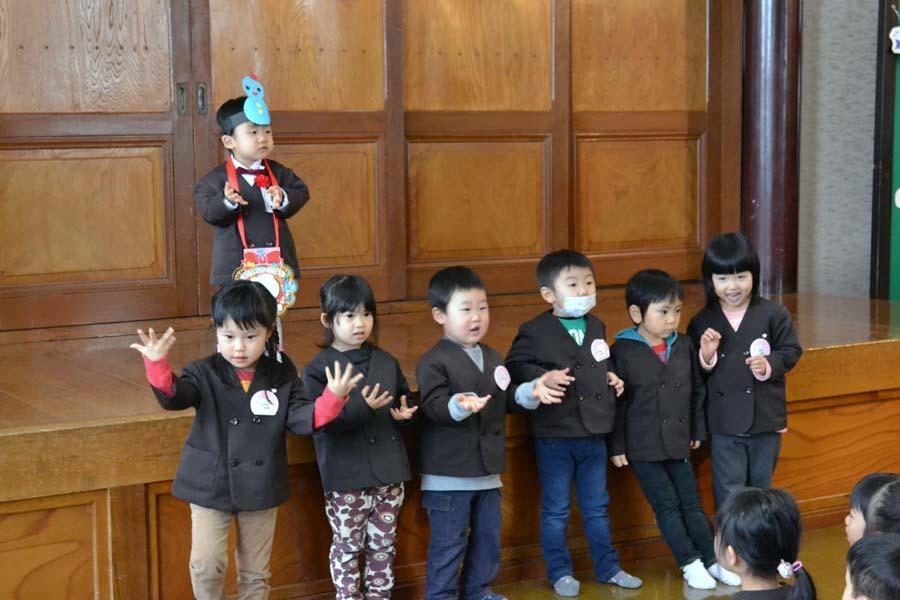 第一幼稚園 12月・1月生まれ お誕生会_d0353789_15002824.jpg