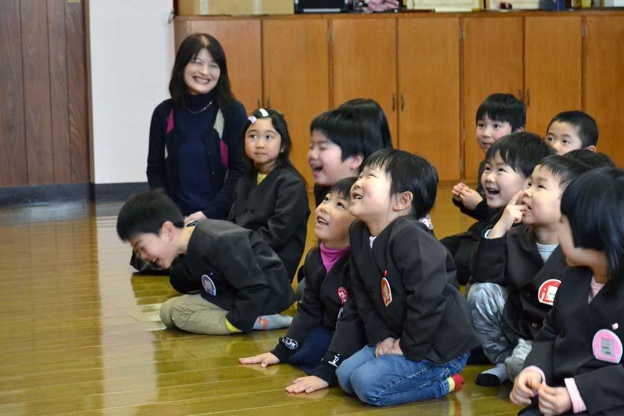 第一幼稚園 12月・1月生まれ お誕生会_d0353789_15005684.jpg
