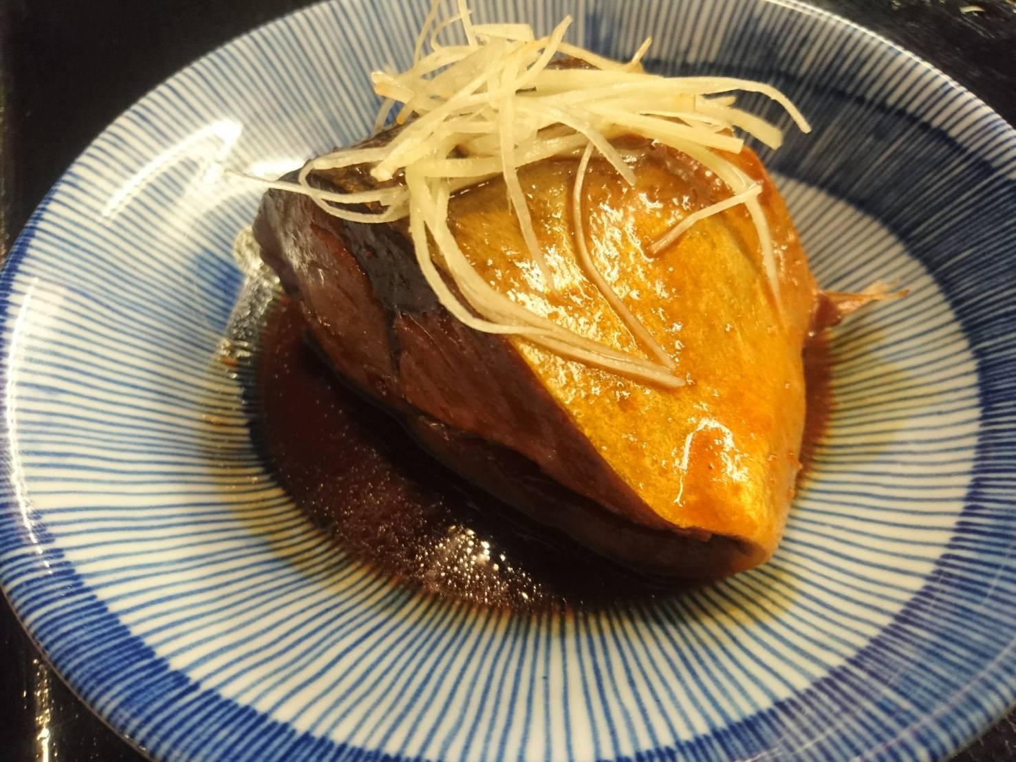 サバの味噌煮_f0157910_15300866.jpg