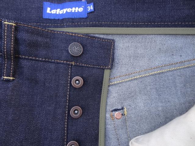 Lafayette 5 POCKET DENIM PANTS - BAGGIE FIT_a0221253_13063841.jpg