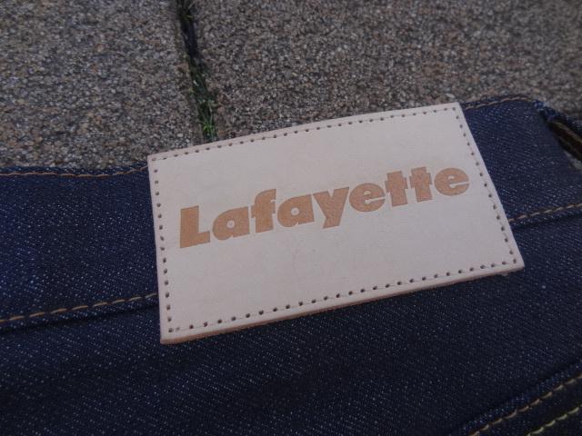 Lafayette 5 POCKET DENIM PANTS - BAGGIE FIT_a0221253_13065263.jpg