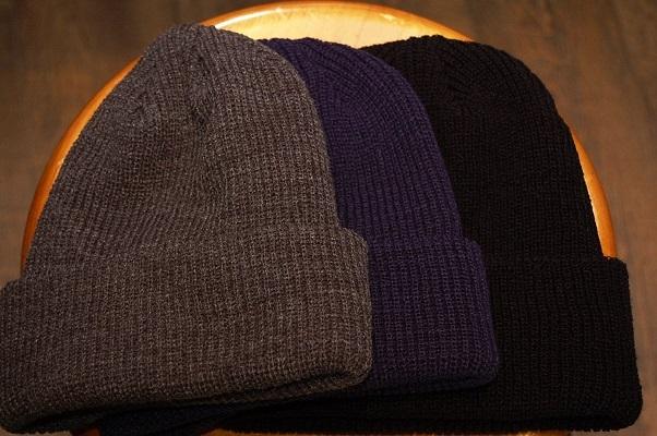 形の良いニット帽が入荷!_e0260759_13304499.jpg