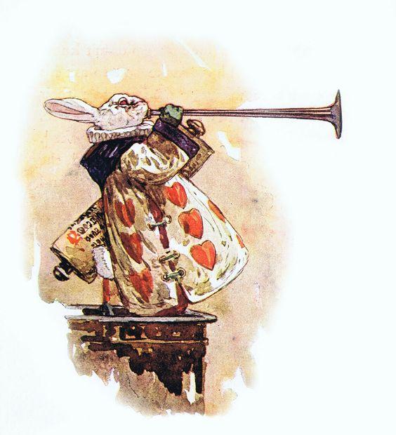 Harry Rountree画の白ウサギ_c0084183_14345872.jpg