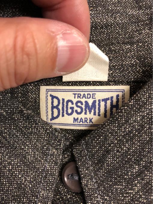 BIG SMITH dead stock _a0208155_10045468.jpg
