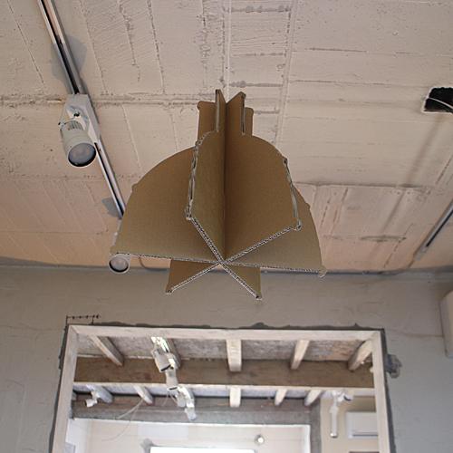 前橋のサロン-照明器具の原寸模型_f0064884_15362403.jpg