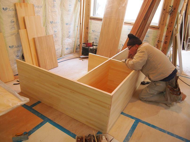 原町田の家☆造作工事がはじまりました^^_c0152341_17061866.jpg
