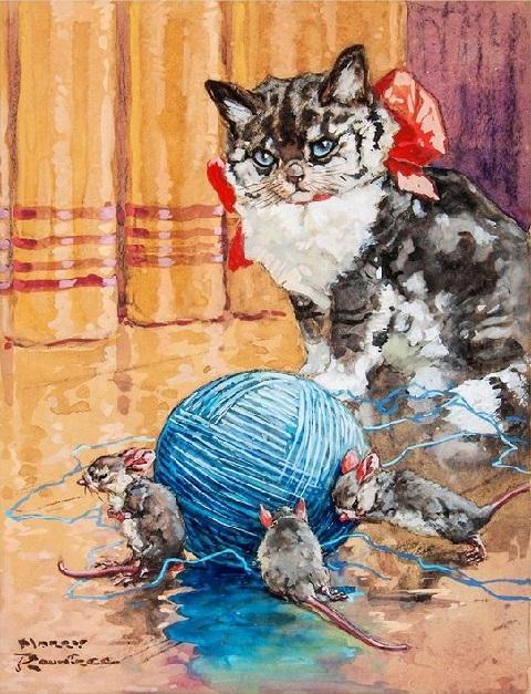 Harry Rountree画のどうぶつたち_c0084183_20295155.jpg