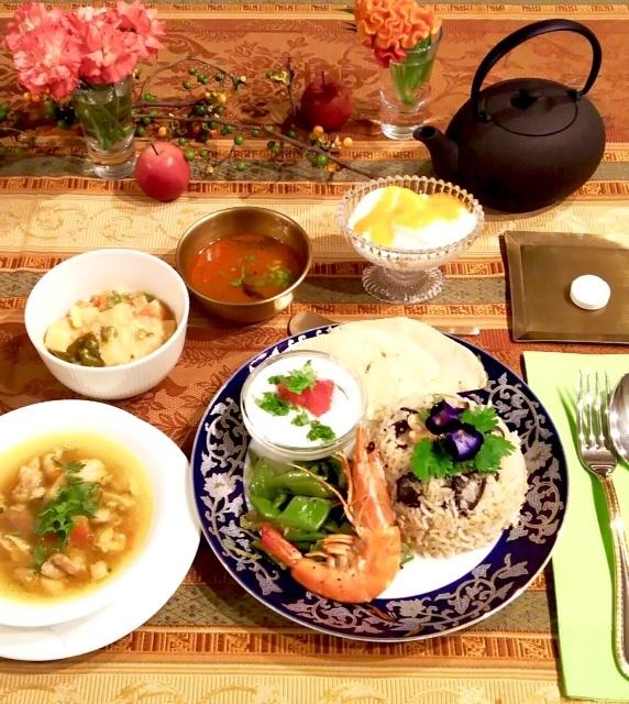 【満席になりました!】4/15特別講座「ガネーシュ石原佳子の南インド料理」本日20時予約開始!_e0145685_16151218.jpeg