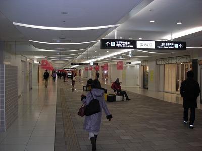 札幌都心の東地下歩道_f0078286_15120284.jpg