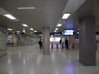 札幌都心の東地下歩道_f0078286_15123679.jpg