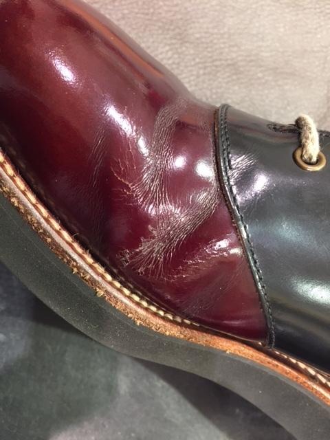靴のリメイク_b0226322_17001849.jpg