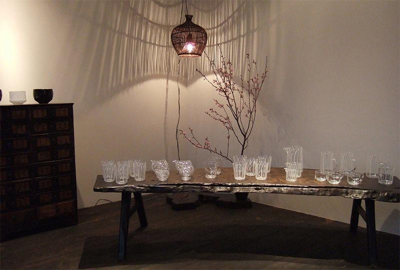 2010年春、アキノヨーコさん個展の時の Gallery。_b0186148_18143857.jpg