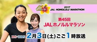 JALホノルルマラソン放送♪_b0142989_20303806.jpg