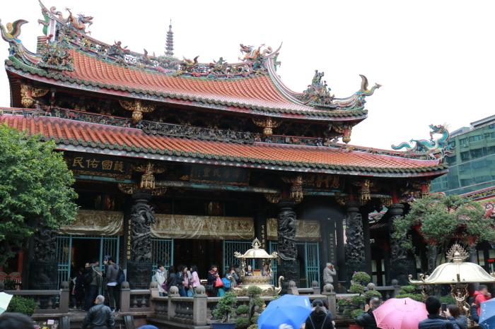 【龍山寺】台湾旅行 - 14 -_f0348831_07585240.jpg