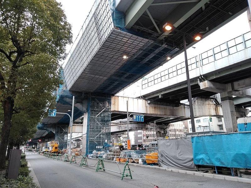 西船場JCT 西本町交差点橋梁架設工事_c0340867_21350531.jpg