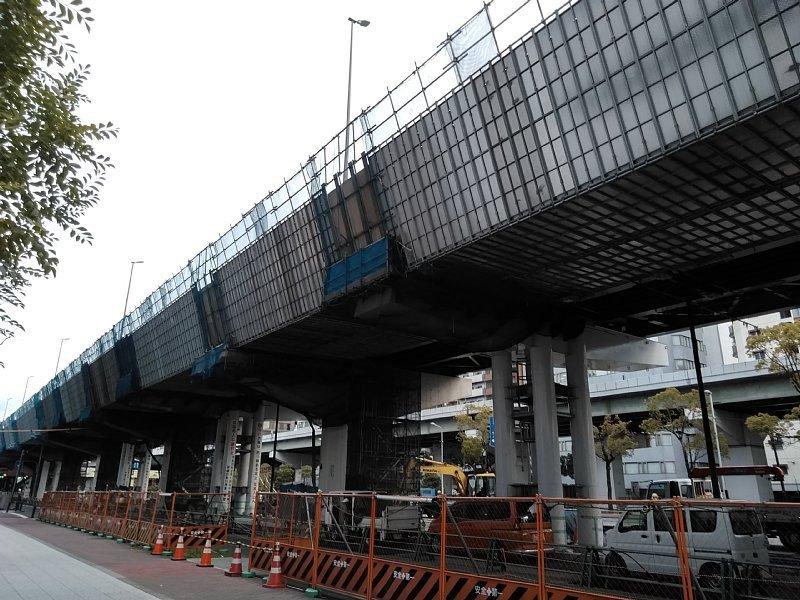 西船場JCT 西本町交差点橋梁架設工事_c0340867_21392193.jpg
