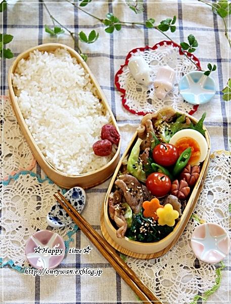 キャベツと豚肉の生姜焼き弁当とコストコとストウブ♪_f0348032_18035516.jpg