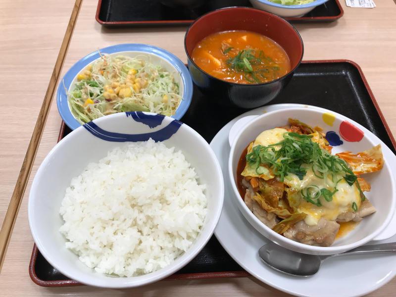 チーズタッカルビ 松屋_a0359239_19510302.jpg