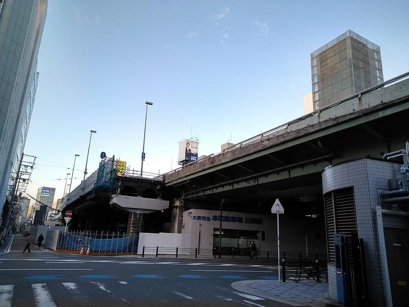 西本町交差点 橋梁架設完了_c0340867_22432190.jpg