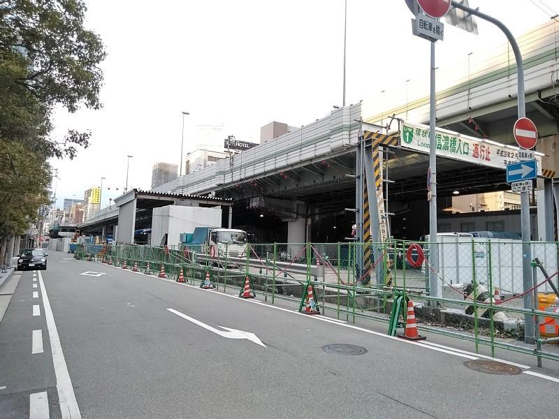 西本町交差点 橋梁架設完了_c0340867_22432414.jpg