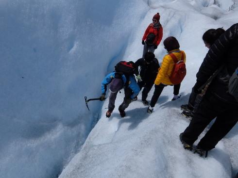 """10日目:ペリトモレノ氷河トレッキング \""""BIG ICE\""""_a0207588_18280052.jpg"""