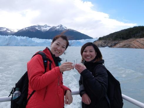 """10日目:ペリトモレノ氷河トレッキング \""""BIG ICE\""""_a0207588_19434088.jpg"""