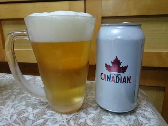 2/4夜勤明け モルソン・カナディアン・ビール with 第52回スーパーボウル_b0042308_18213715.jpg