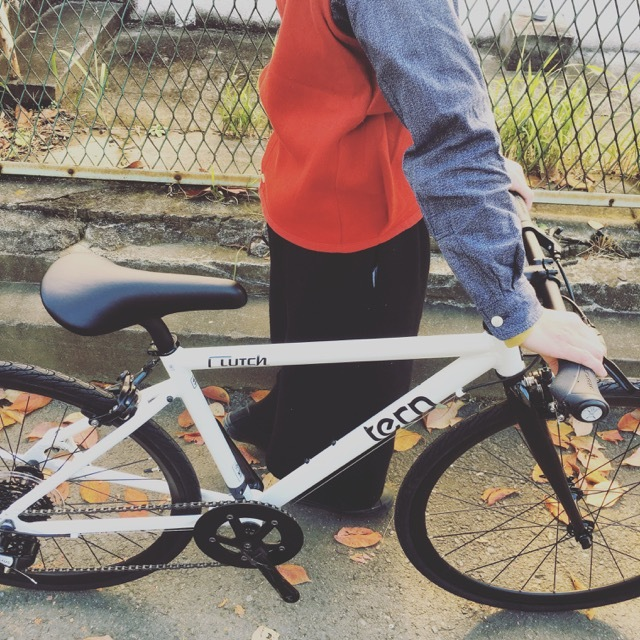 2018 tern ターン 「CLUTCH クラッチ」 クロスバイク 650c おしゃれ自転車 自転車女子 自転車ガール クラッチ_b0212032_20442370.jpg