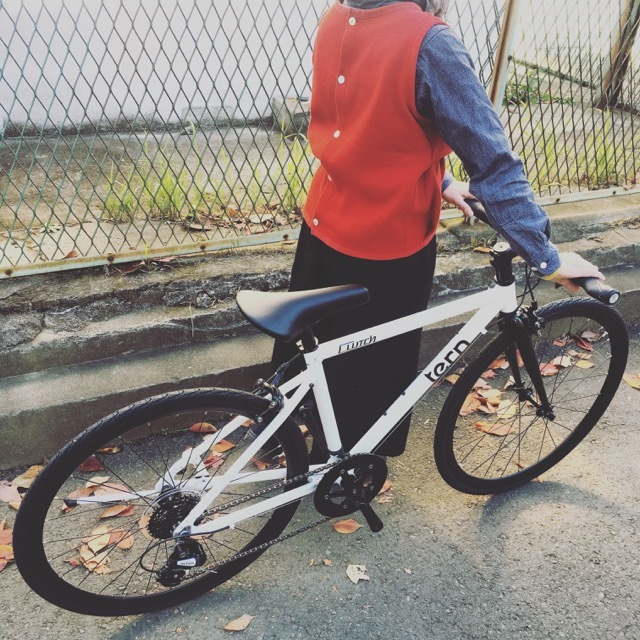 2018 tern ターン 「CLUTCH クラッチ」 クロスバイク 650c おしゃれ自転車 自転車女子 自転車ガール クラッチ_b0212032_20452719.jpg