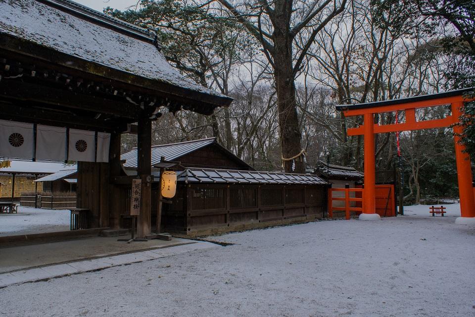 河合神社の雪景色_e0363038_18152524.jpg