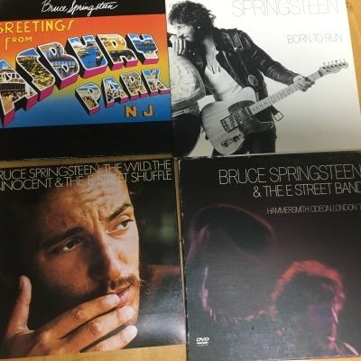 ブルース・スプリングスティーンの初期CD3枚 「明日なき暴走」「青春の叫び」他_b0177242_15271222.jpg