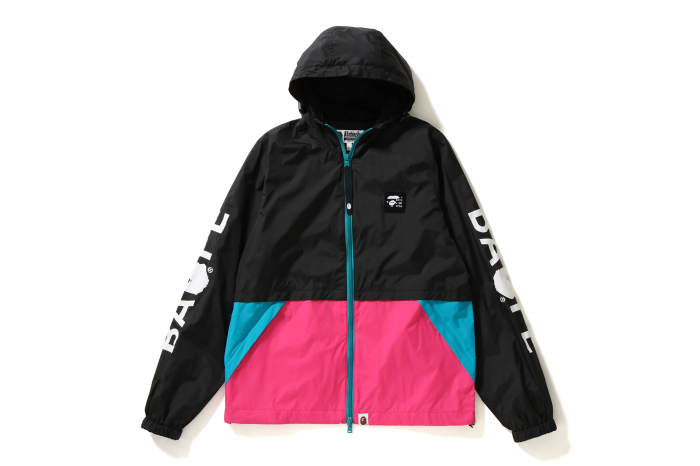 COLOR BLOCK HOODIE JACKET_a0174495_16023989.jpg