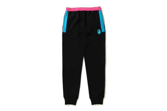 COLOR BLOCK SLIM SWEAT PANTS_a0174495_16065705.jpg