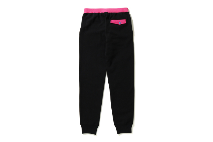 COLOR BLOCK SLIM SWEAT PANTS_a0174495_16070875.jpg
