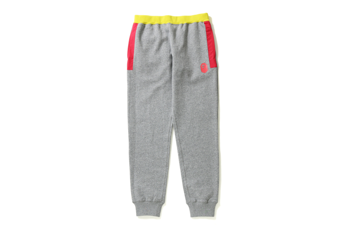 COLOR BLOCK SLIM SWEAT PANTS_a0174495_16071773.jpg