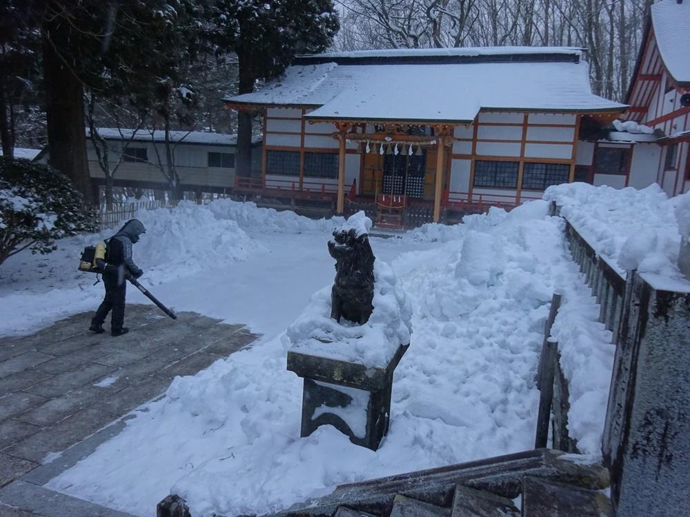 今朝も除雪から_c0111229_18375243.jpg
