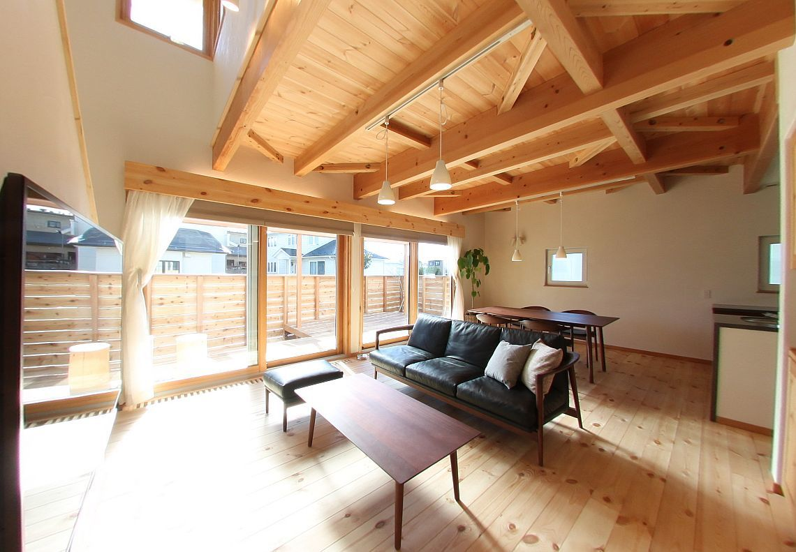 Q1住宅仙台東中田:階段下冷気_e0054299_10513421.jpg