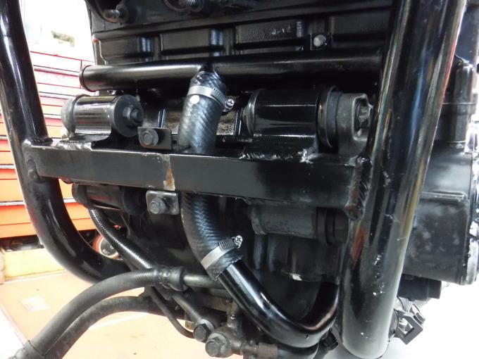 ZZR1100D ・・・冷却水漏れ。その7_a0163159_00300385.jpg