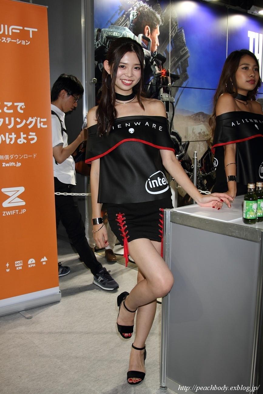 北川瑛里奈 さん(Dell ブース)_c0215885_21174077.jpg