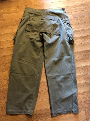アメリカ仕入れ情報#4 U.S.M.C P-44 HBT Trousers モンキーパンツ!_c0144020_22423512.jpg