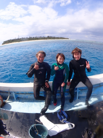 2月7日恩納村欠航・・・でも水納島まで行っちゃいました!!_c0070933_22564213.jpg