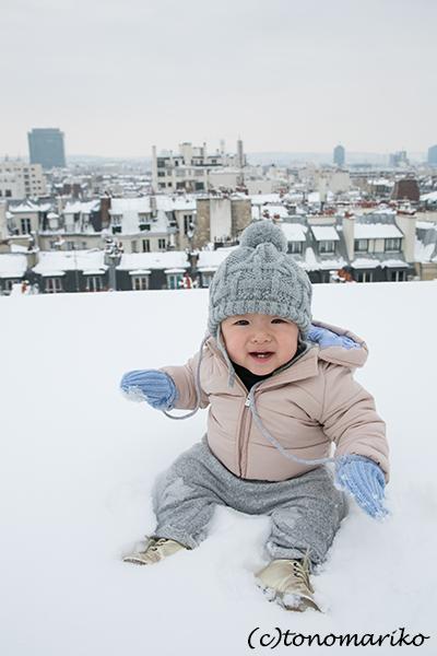 パリの大雪。バブー家の特別な雪さんぽ?!_c0024345_21310153.jpg