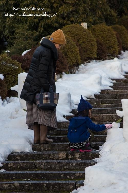 雪うさぎ_d0148187_22523606.jpg