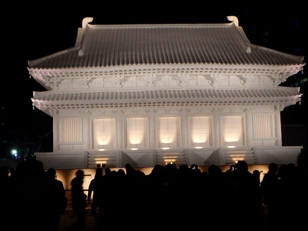 札幌雪祭り、ーSさんからの写真ー_f0138096_17393601.jpg