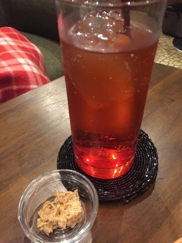 喫茶 1er ぷるみえ (シンプルバターライスに白いミネストローネソース)_e0115904_06430497.jpg