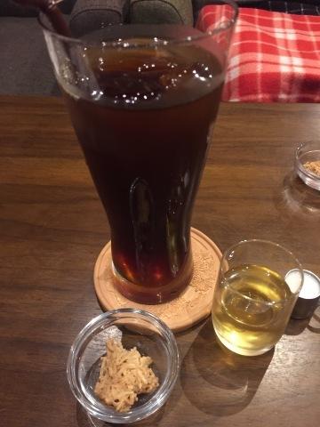 喫茶 1er ぷるみえ (シンプルバターライスに白いミネストローネソース)_e0115904_06440384.jpg