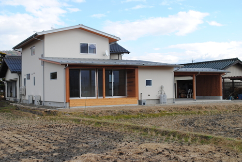 池田町K邸完成写真1_c0218716_92843.jpg