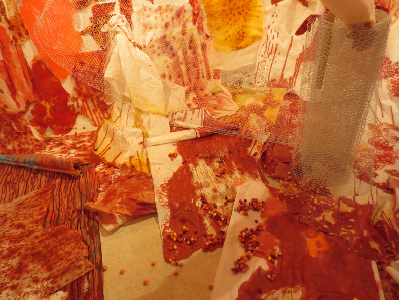 ■事前周到な調和を予定したものではなく──今田淳子展「心的消化のための、あるいは初めの花」_d0190217_19051736.jpg