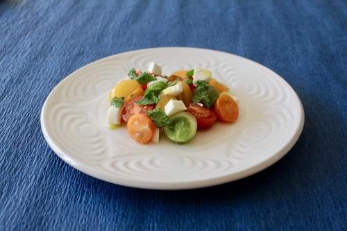 カラフルトマトとモッツァレラチーズのサラダ_f0220354_09185556.jpeg