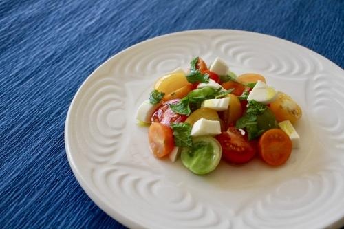 カラフルトマトとモッツァレラチーズのサラダ_f0220354_09192398.jpeg